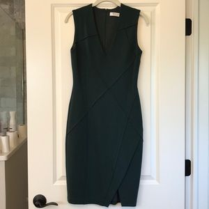 Baily/44 forest green dress